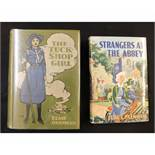 ELSIE J OXENHAM: 2 titles: THE TUCK-SHOP GIRL, illustrated Harold C Earnshaw, London, W & R