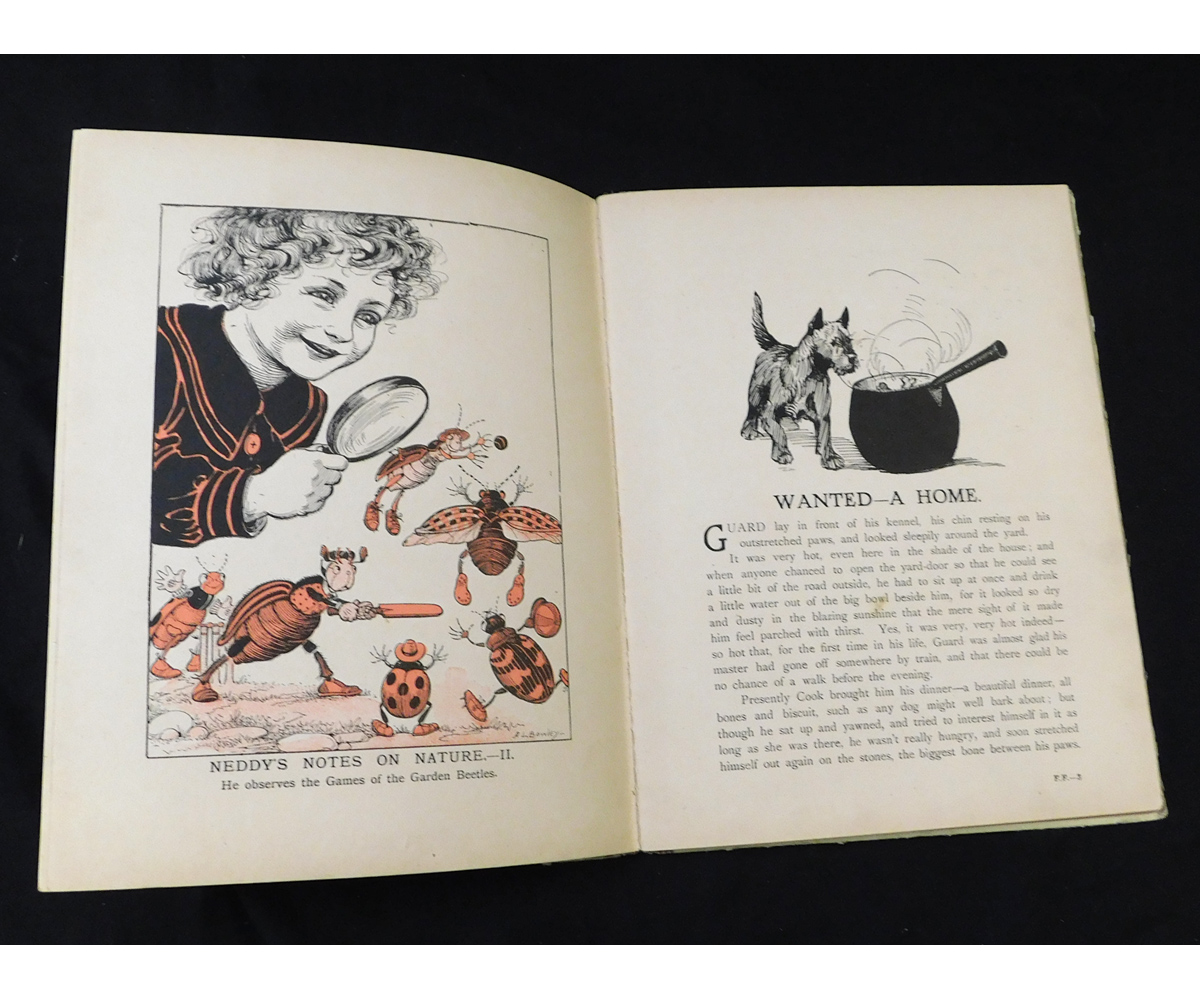 """LOUIS WAIN (ILLUSTRATED) AND OTHERS: FAMILY FUN, London, Raphael Tuck & Sons, circa 1927, """"Father - Image 2 of 12"""
