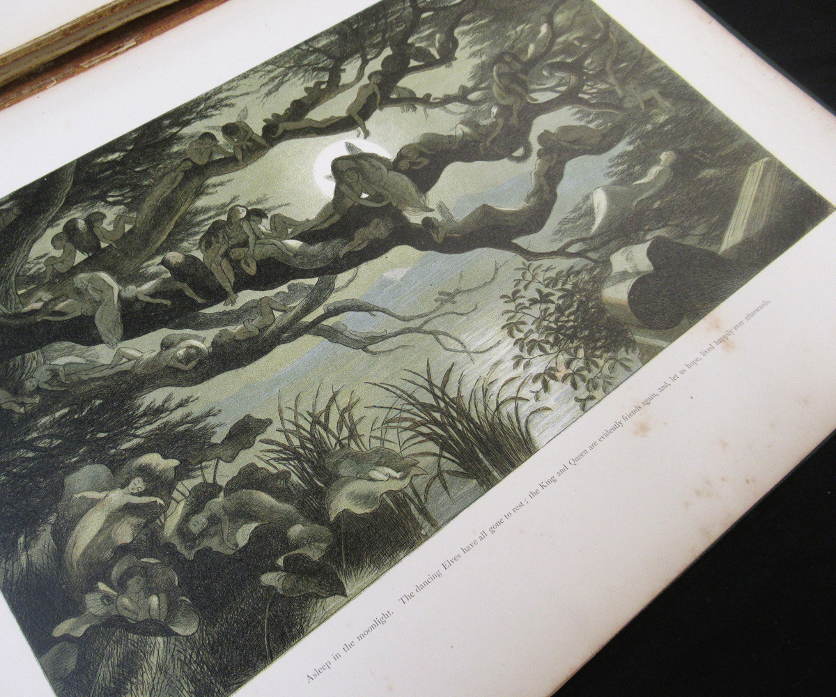 RICHARD DOYLE (ILLUSTRATED) AND WILLIAM ALLINGHAM: IN FAIRYLAND, A SERIES OF PICTURES FROM THE ELF- - Image 6 of 11