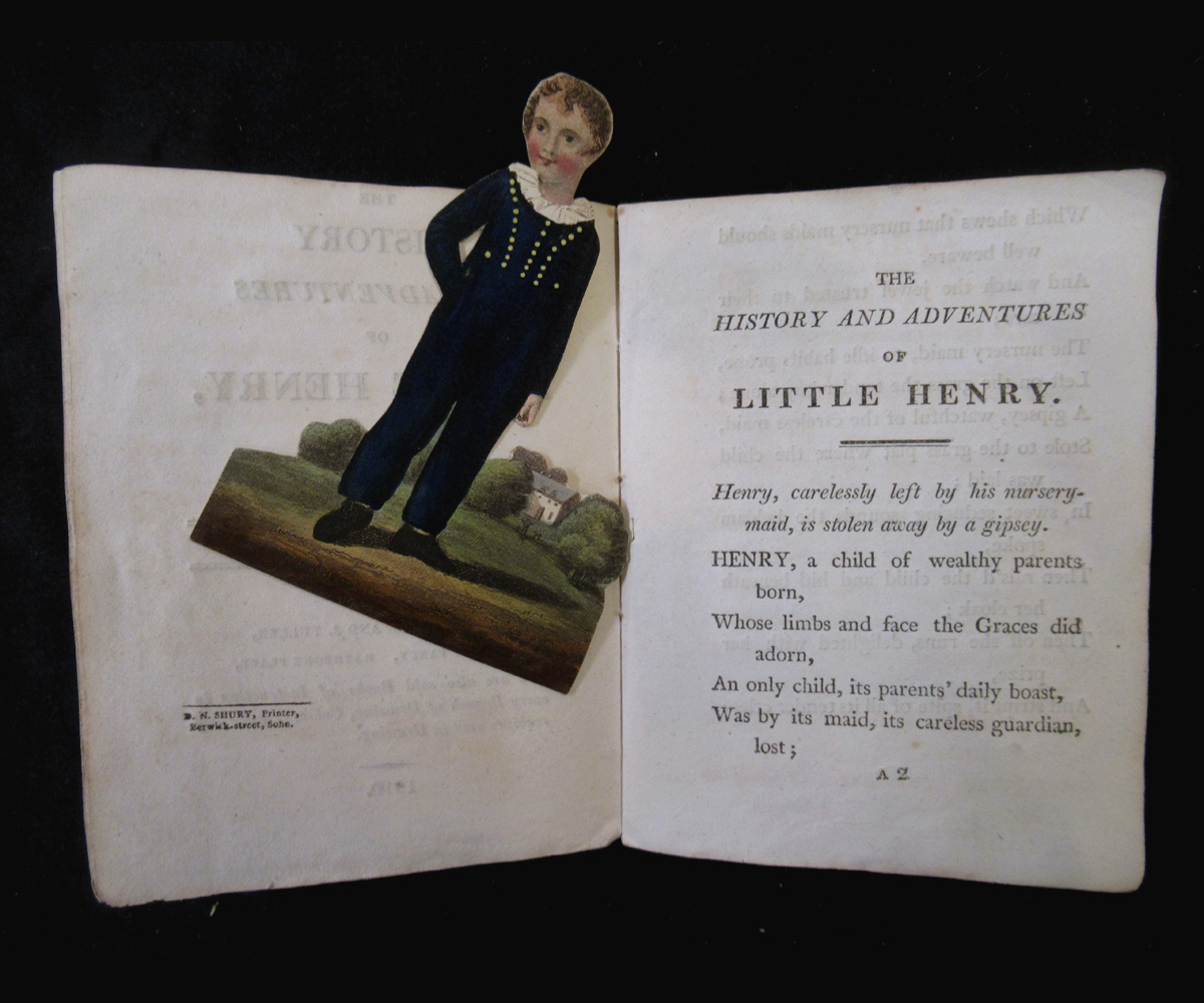THE HISTORY OF LITTLE FANNY, EXEMPLIFIED IN A SERIES OF FIGURES, London, S & J Fuller, 1810, 2nd - Image 3 of 3