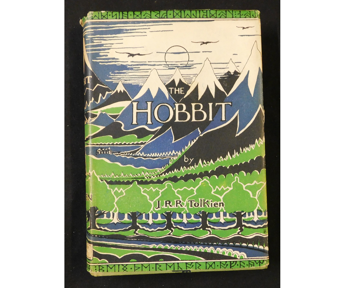 J R R TOLKIEN: THE HOBBIT, OR THERE AND BACK AGAIN, London, 1970, 3rd edition, 5th impression, 4