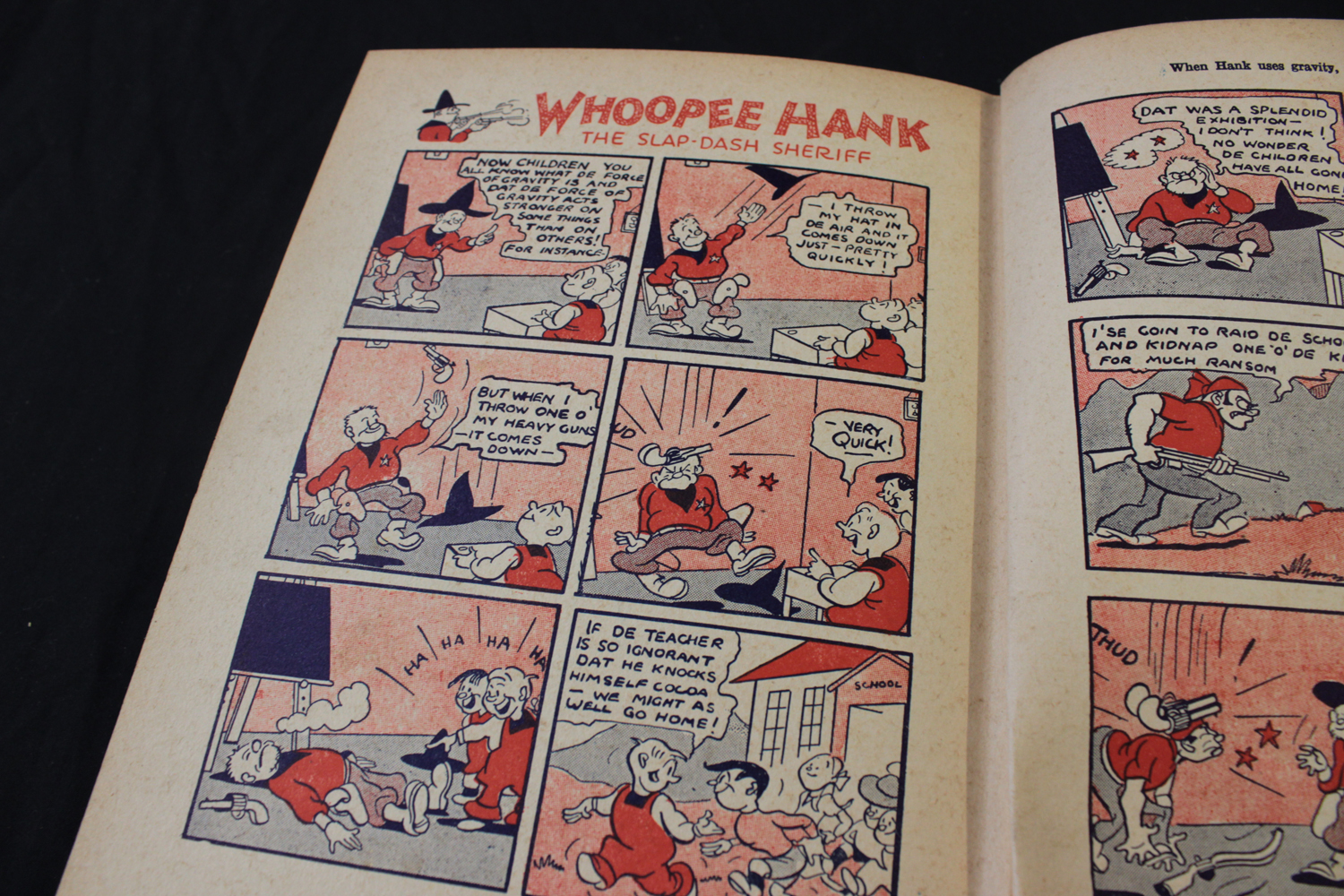 THE BEANO BOOK [No 1 Annual for 1940], London, Manchester and Dundee, D C Thomson & Co, [1939], 128p - Image 12 of 16