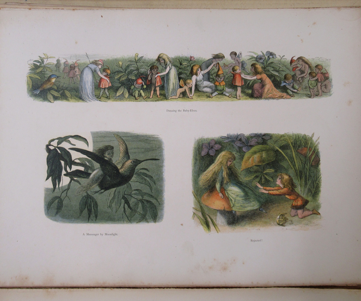 RICHARD DOYLE (ILLUSTRATED) AND WILLIAM ALLINGHAM: IN FAIRYLAND, A SERIES OF PICTURES FROM THE ELF- - Image 8 of 11