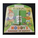ENID BLYTON: NODDY'S GARAGE OF BOOKS, illustrated Beek, Sampson Low, ND, 5 volumes complete,