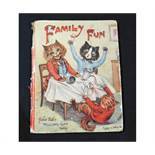 """LOUIS WAIN (ILLUSTRATED) AND OTHERS: FAMILY FUN, London, Raphael Tuck & Sons, circa 1927, """"Father"""