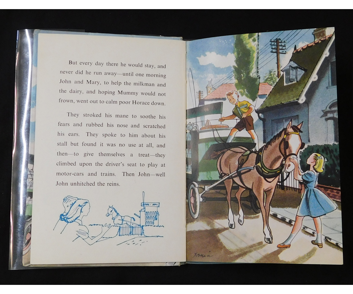 GEORGE MURRAY: THE IMPATIENT HORSE, illustrated Xenia Berkeley, 1953, 1st edition, Ladybird Book - Image 2 of 2