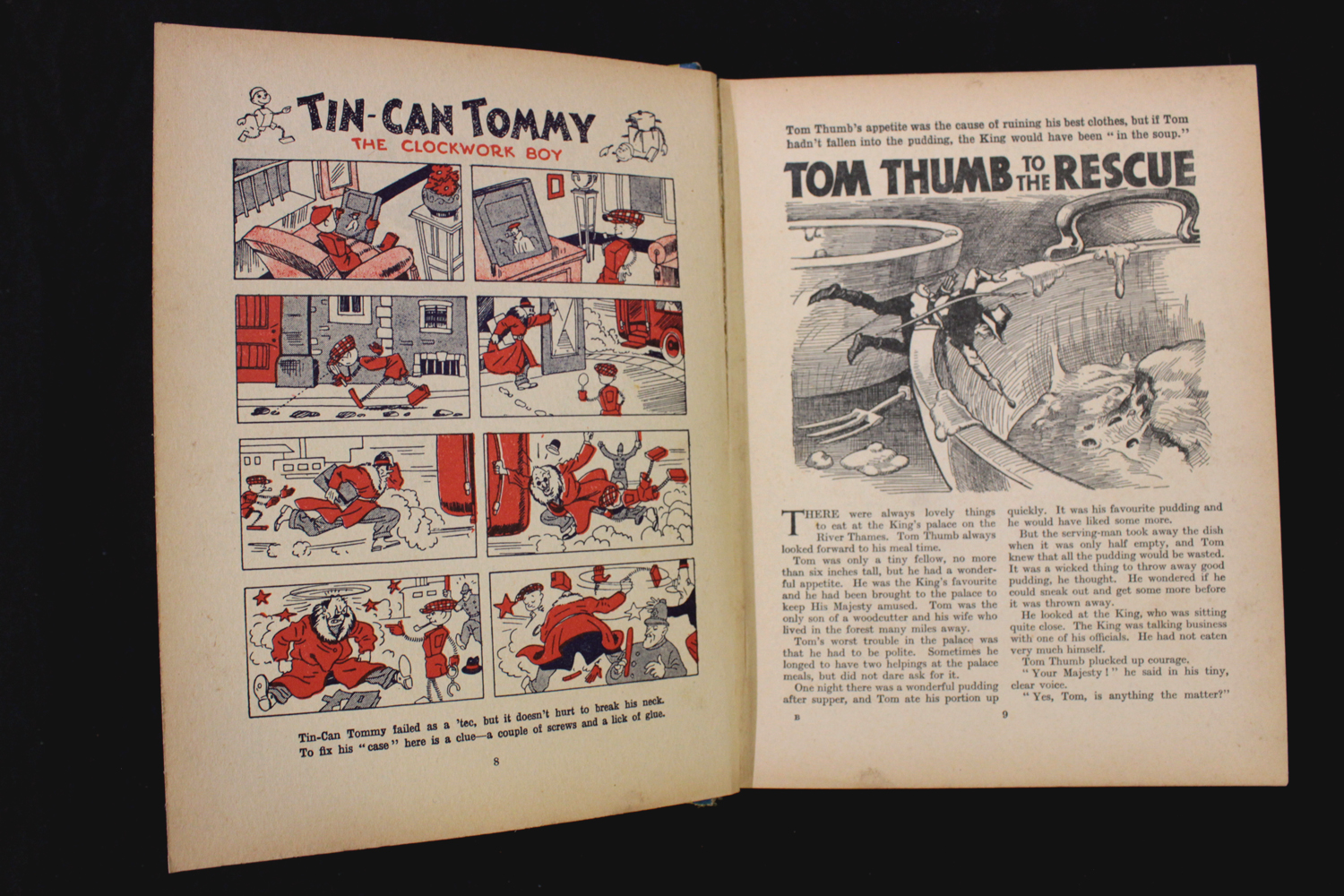 THE BEANO BOOK [No 1 Annual for 1940], London, Manchester and Dundee, D C Thomson & Co, [1939], 128p - Image 9 of 16