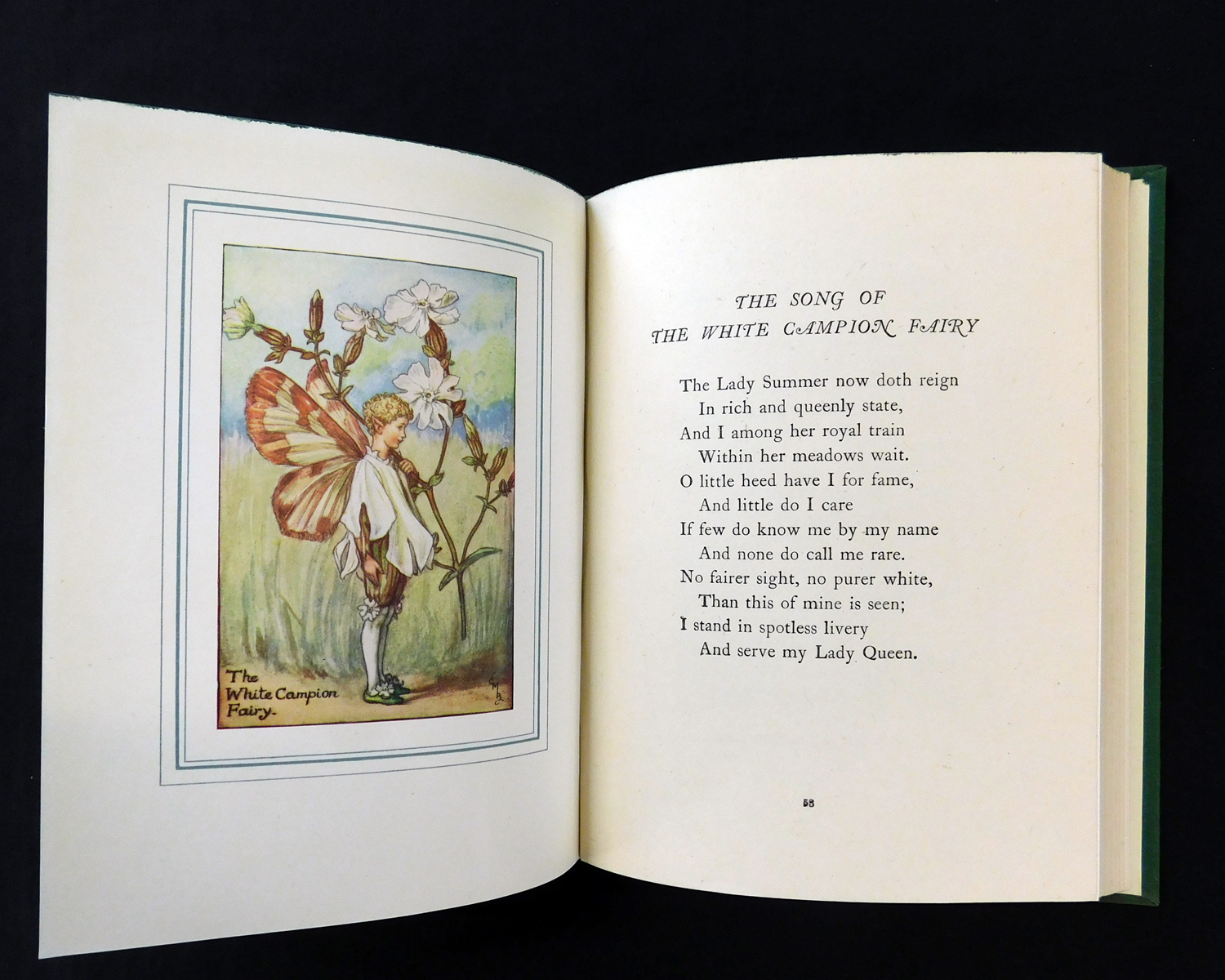 CICELY MARY BARKER: THE BOOK OF THE FLOWER FAIRIES, London and Glasgow, Blackie & Son Ltd, circa - Image 5 of 6