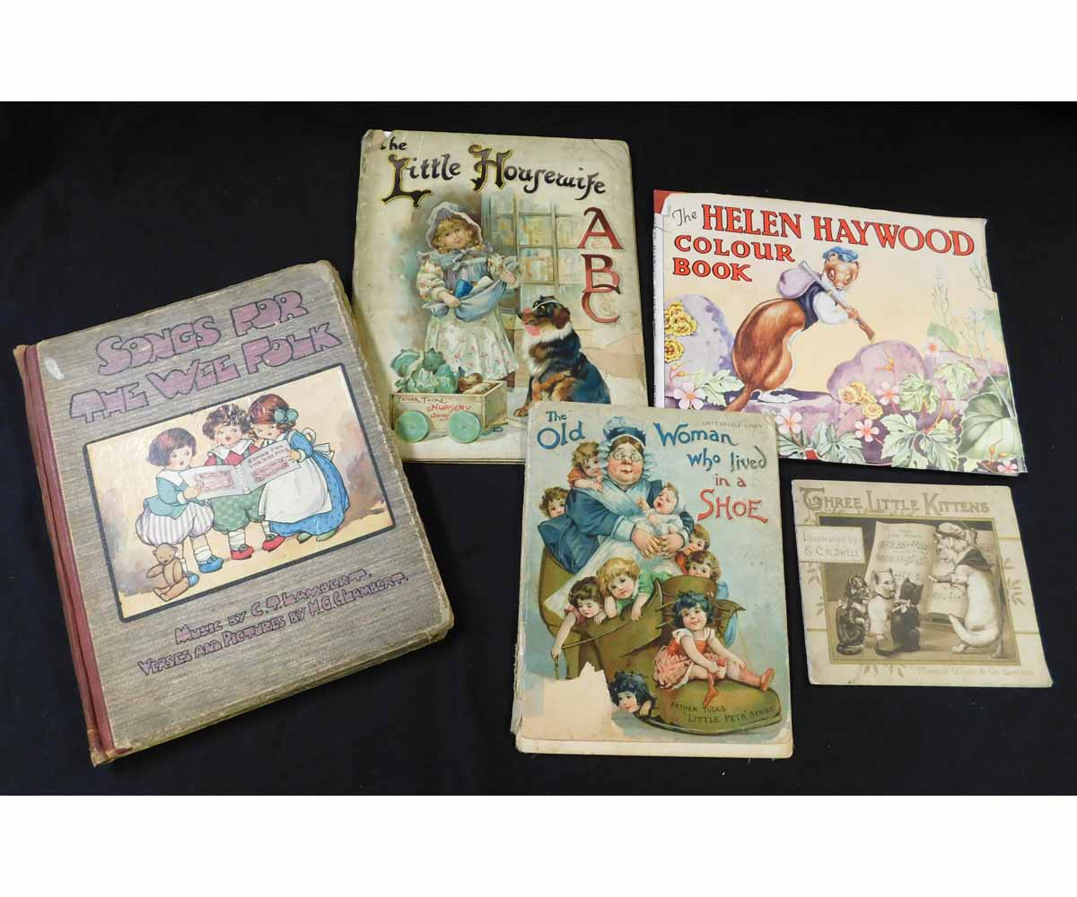 ISOBEL ST VINCENT: THE HELEN HAYWOOD COLOUR BOOK, London, Hutchinson's Books for Young People, circa
