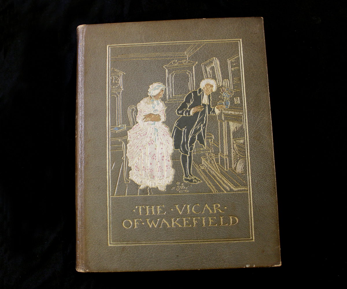 OLIVER GOLDSMITH: THE VICAR OF WAKEFIELD, illustrated Arthur Rackham, London, 1929, 1st trade