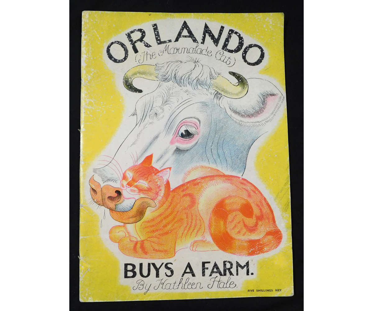 KATHLEEN HALE: ORLANDO (THE MARMALADE CAT) BUYS A FARM, London, Country Life, 1942, 1st edition,
