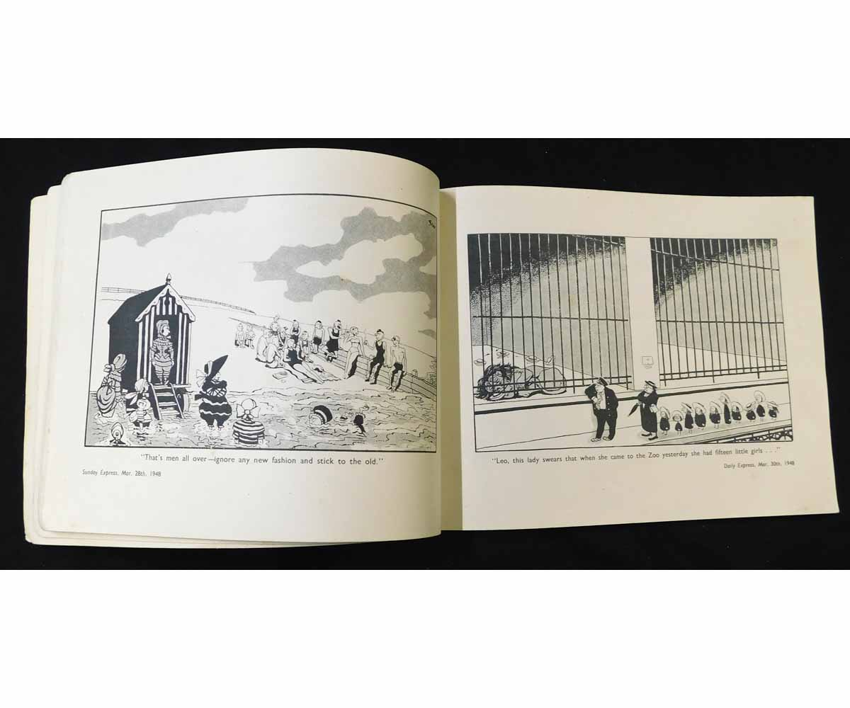 CARL GILES: GILES SUNDAY EXPRESS AND DAILY EXPRESS CARTOONS, [1948], 3rd series, oblong quarto, - Image 2 of 2