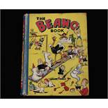 THE BEANO BOOK [No 1 Annual for 1940], London, Manchester and Dundee, D C Thomson & Co, [1939], 128p