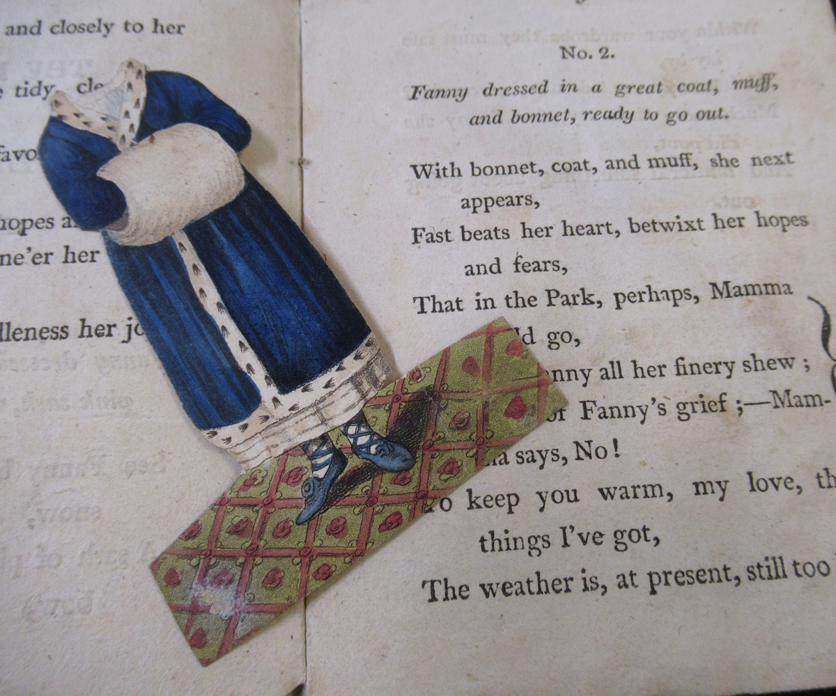 THE HISTORY OF LITTLE FANNY, EXEMPLIFIED IN A SERIES OF FIGURES, London, S & J Fuller, 1810, 2nd - Image 2 of 3