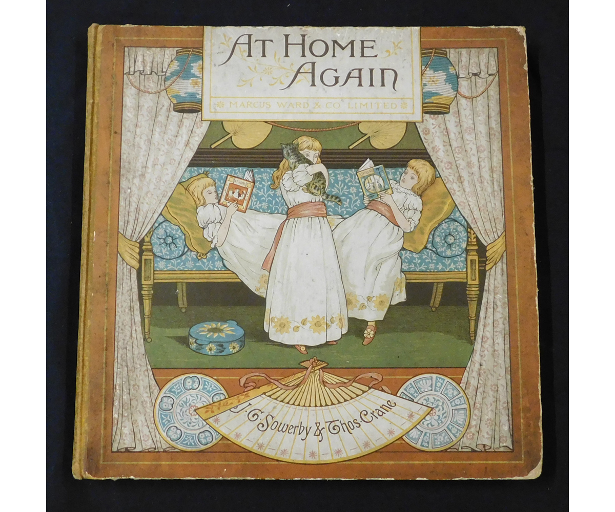 ELIZA KEARY: AT HOME AGAIN, illustrated J G Sowerby & Thomas Crane, London, Marcus Ward & Co Ltd, [