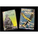 W E JOHNS: 2 titles: SPITFIRE PARADE, STORIES OF BIGGLES IN WAR-TIME, [illustrated Radcliffe