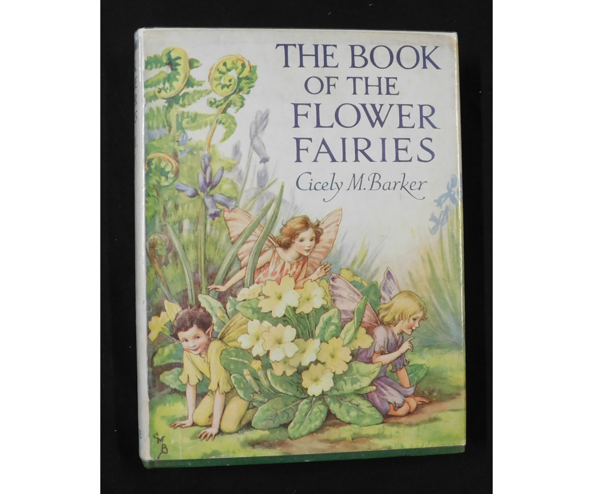 CICELY MARY BARKER: THE BOOK OF THE FLOWER FAIRIES, London and Glasgow, Blackie & Son Ltd, circa