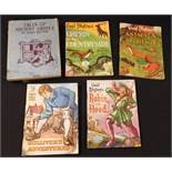 ENID BLYTON: 5 titles: ANIMALS AT HOME - FRIENDS OF THE COUNTRYSIDE - ROBIN HOOD - GULLIVER'S