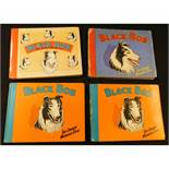 BLACK BOB THE DANDY WONDER DOG, Annuals for 1951, 1959 (2 copies) and 1961, each published D C