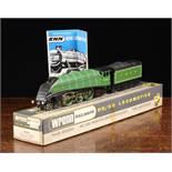 "A Wrenn W2209 ""Golden Eagle"" A4 Pacific LNER Apple Green Locomotive, carriage no 4482,"