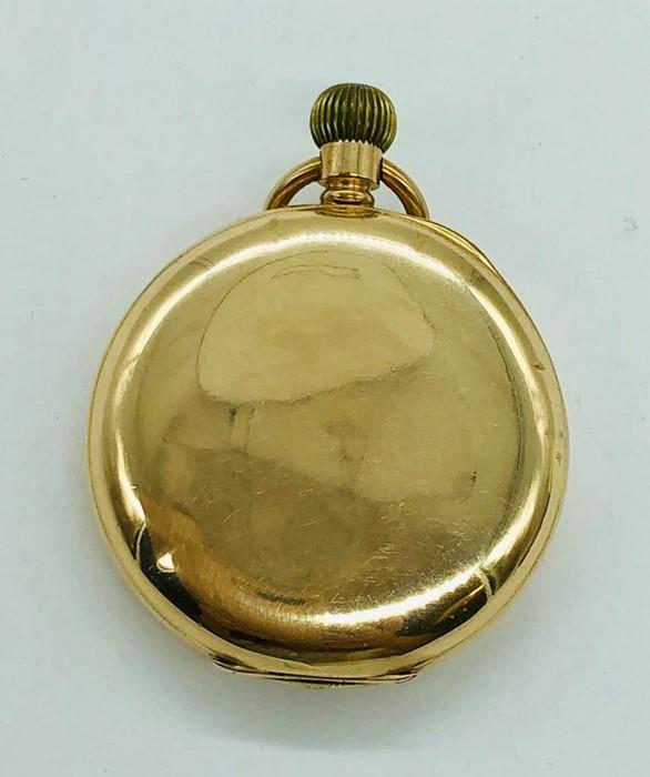 Lot 47 - A Gents Gold Waltham Pocket Watch c.1920's