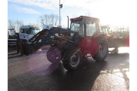 Case International 885 XL 4wd Tractor c/w Loader, Pallet