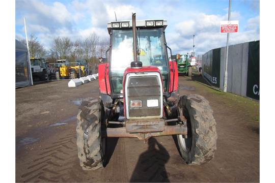 Massey Ferguson 6160 Dynashift 4wd Tractor Reg  No  N136 HFW Ser No
