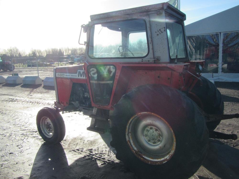 4 Door Tractor : Massey ferguson tractor c w door cab wide back