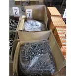 LOT - (9) BOXES OF 1X10 PANHEAD SHEET METAL SCREWS, (2) CASES OF 1/4-20X1 HEX TAP BOLT ZINC, 3,200