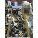 LOT - MISC ELECTRIC SWITCHES AND GAUGES