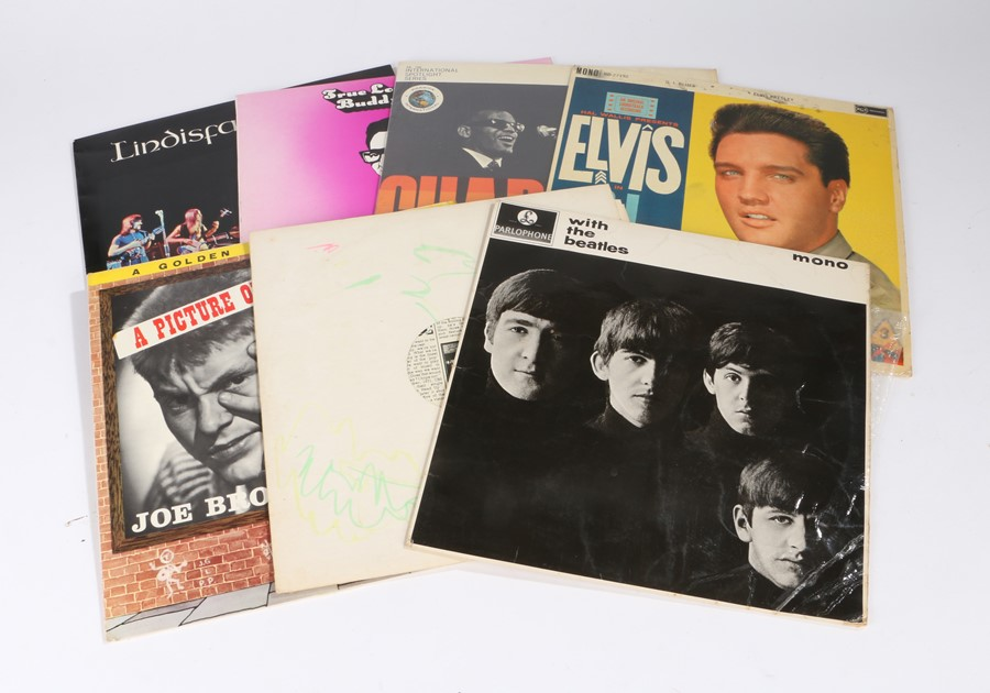 Lot 1 - Quantity of LPs to include The Beatles - With The Beatles, Revolver (PMC 7009), without Sleeve.