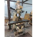 Enco milling machine with auto control and Acu-Rite digital readout, 54in x 10in work surface M# 006