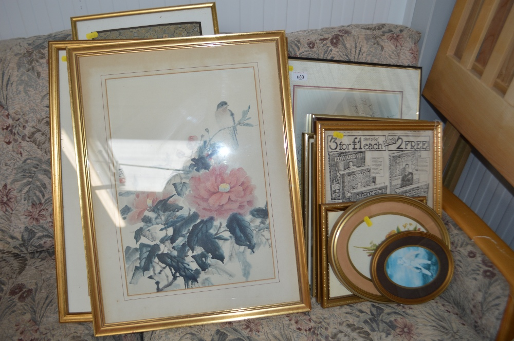 Lot 660 - A quantity of pictures and prints