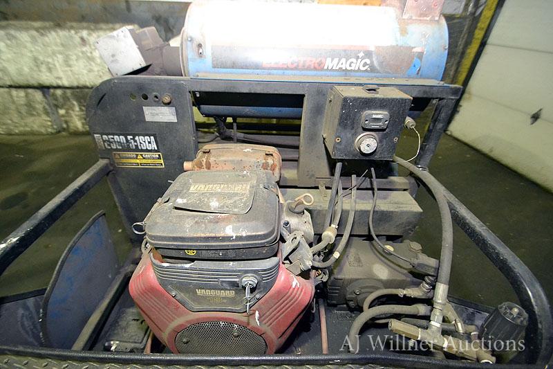 Electro Magic Model 3500 5 1 Sca Pressure Washer S N