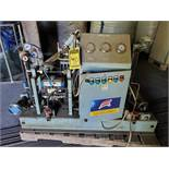 ANQING BAILIAN OIL-FREE AIR COMPRESSOR ON STEEL FRAME, MODEL CW-15/6-65, 600 R/PM, 15 NM3/H CAP. 5.5