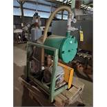 7.5 HP VACUUM BLOWER WITH SUTORBILT ROTARY POSITIVE BLOWER, 5MP, FILTER, SILENCER ON STAND