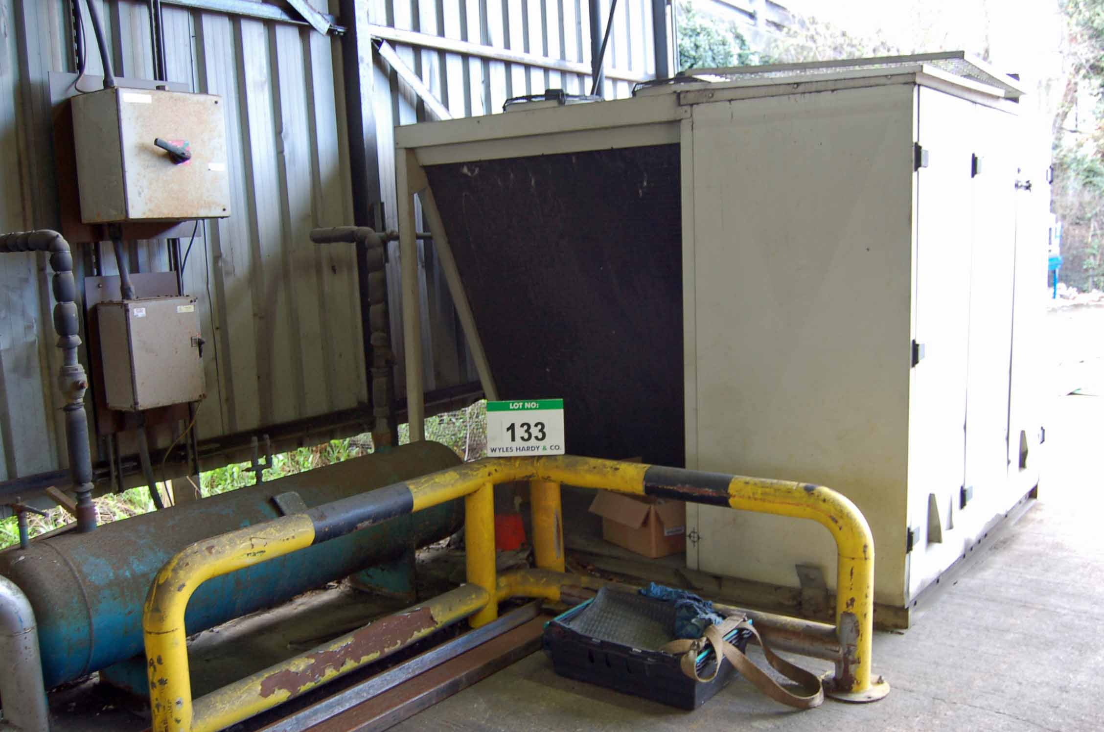 Lot 133 - A HANS GUNTNER S-GVDG052/2 4-Fan Chiller Condenser, Serial No. 100/152061.1 (Year 2003) (THIS LOT IS