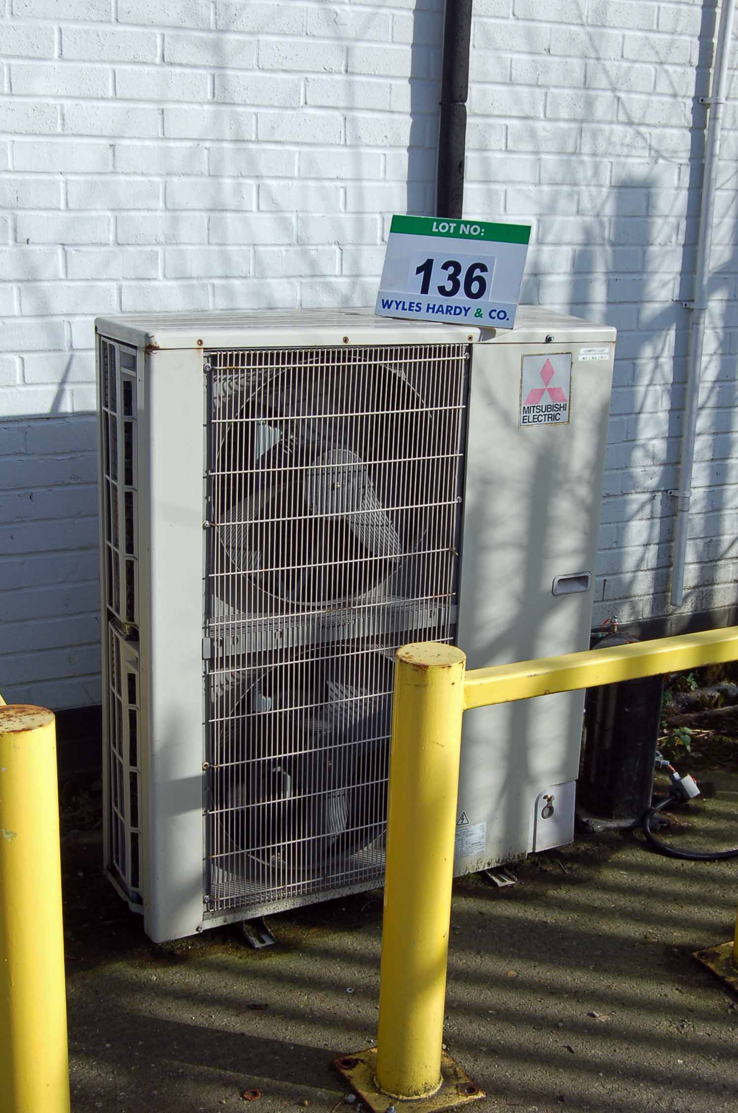 Three SEARLE GEA Twin Fan Ceiling mounted Freezer Evaporator Units (Unit 18) and A MITSUBISHI Twin