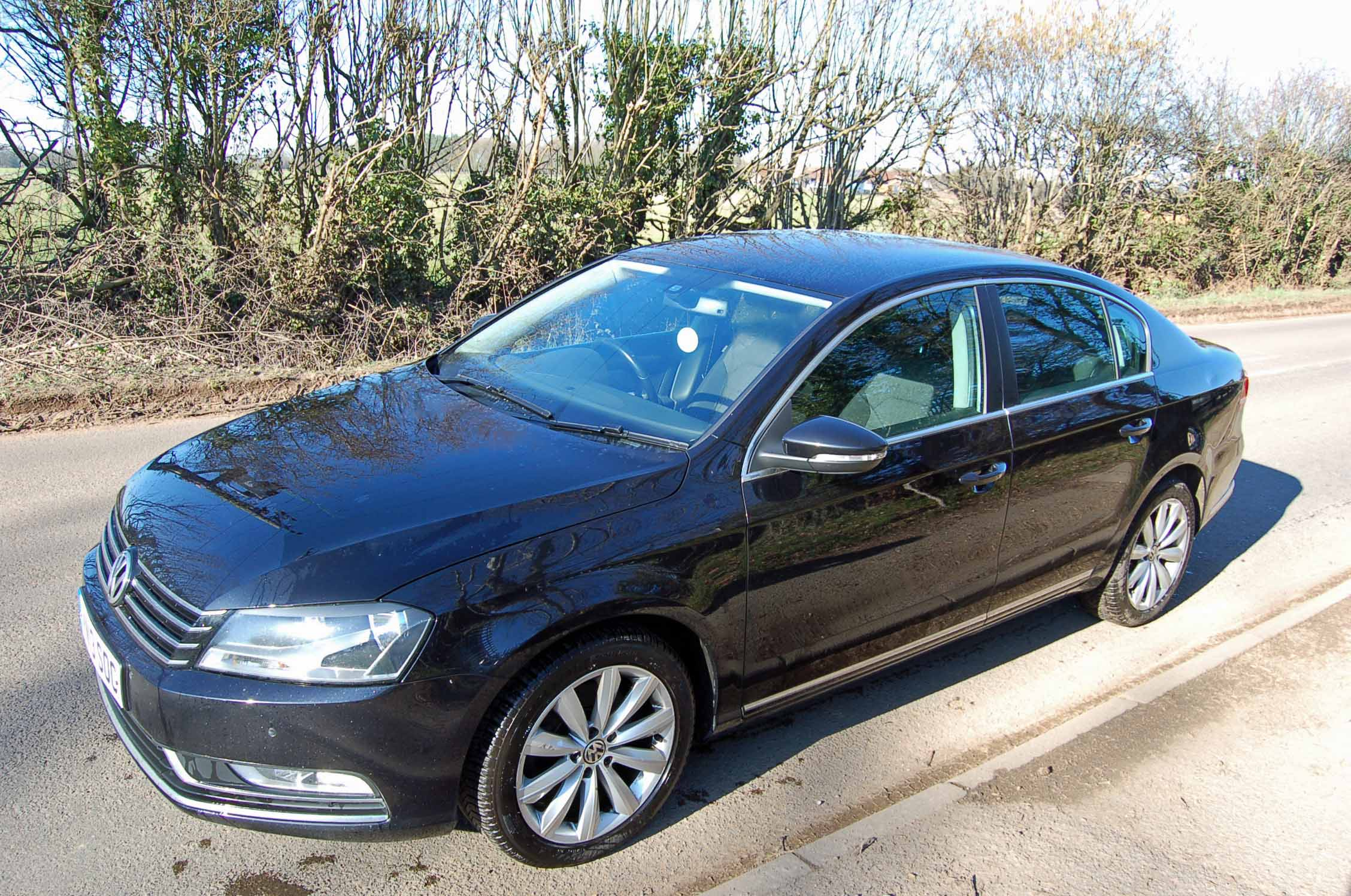 Lot 6 - A VOLKSWAGEN Passat Highline 2.0 TDI Diesel Saloon, Registration No. VN13 SOC (2013), First