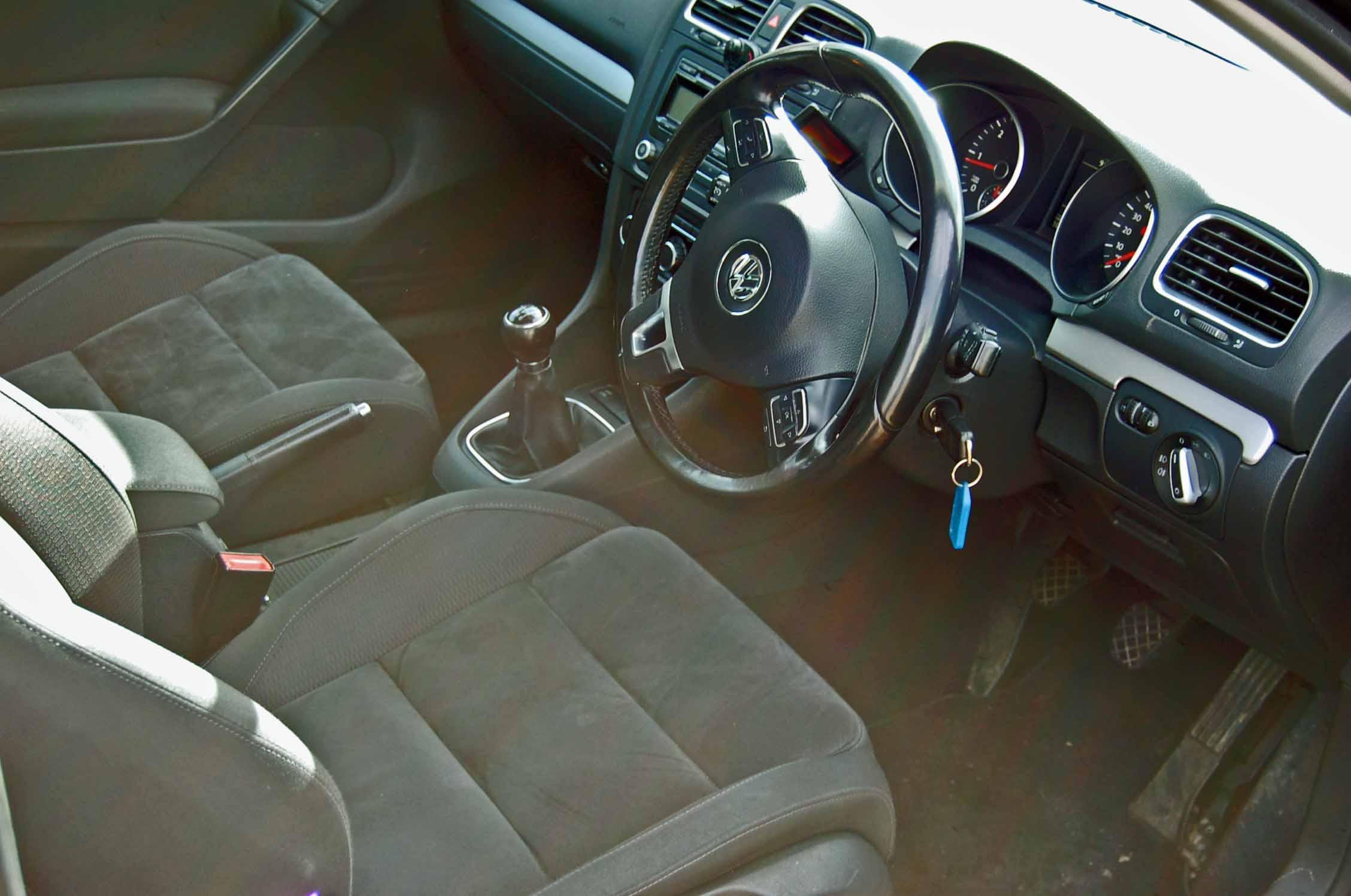 Lot 7 - A VOLKSWAGEN Golf GT 2.0 TDi 140 3-Door, 6-Speed, Diesel, Manual Hatchback, Registration No. DE09