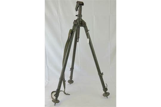 A Yugoslavian MG53 LMG anti-aircraft tripod, made in WWII German