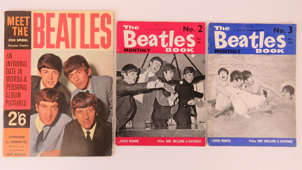 Lot 652 - Beatles; 'Meet the Beatles' Star Special