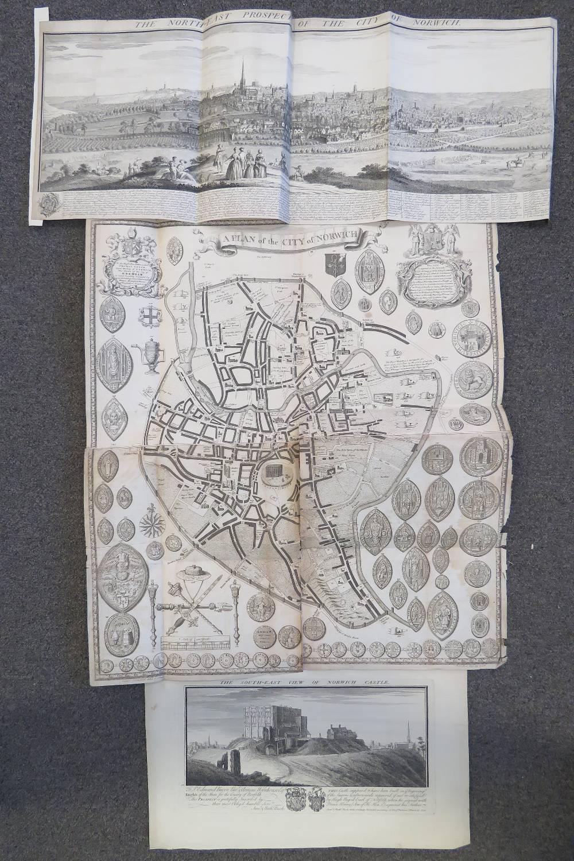 Lot 659 - After Samuel & Nathaniel Buck, an engrav