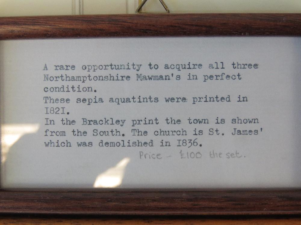 Lot 826 - Northamptonshire interest comprising thr