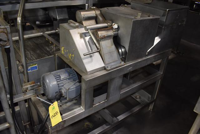 Lot 1128 - Urschel Model G Dicer, 2 HP Motor, 230/460 Volt, SN 1390, RIGGING FEE: $500