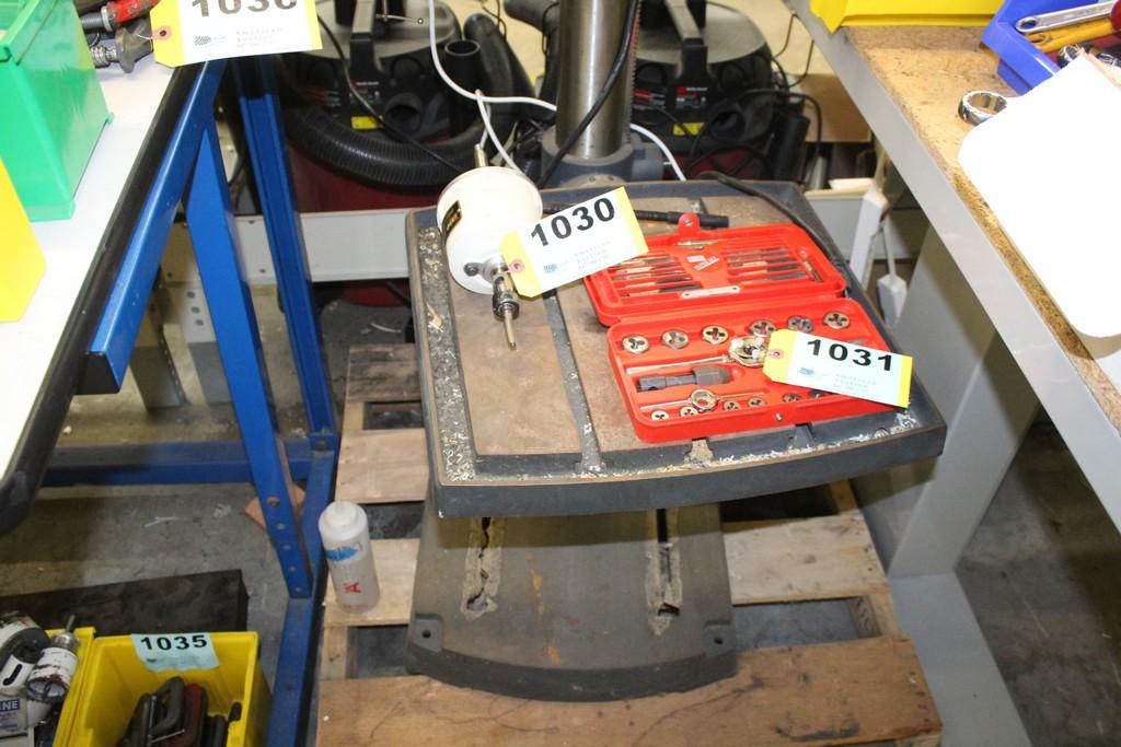 "CRAFTSMAN 20"" 2HP FLOOR STANDING DRILL PRESS - Image 4 of 4"