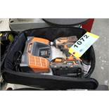 RIDGID R86034 18V CORDLESS DRIVER WITH CHAGER AND CASE