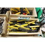 (31) IDEAL T CUTTER WIRE CUTTERS AND STRIPPERS