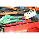 (2) GREENLEE CABLE CUTTERS AND BOLT CUTTER