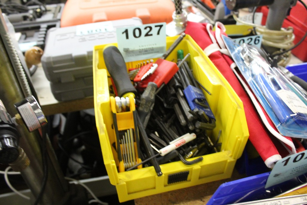 Lot 1027 - ASSORTED ALLEN KEYS